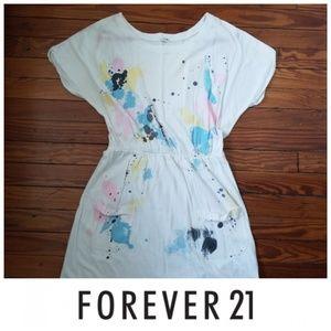 Forever 21 splatter paint dress 🖌